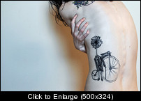 bicycletattostattoobicycletattoodandeliontattoosf2